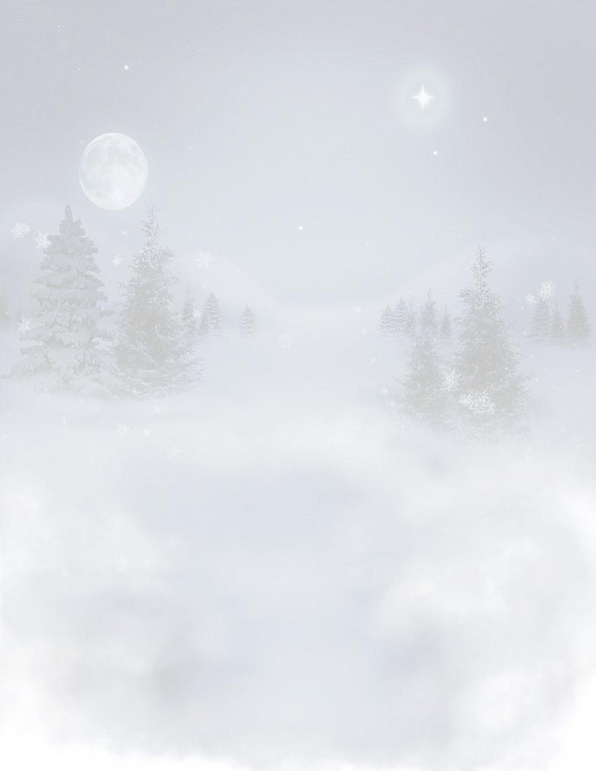 winter_landscape_night_background