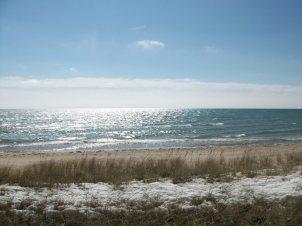 Lake Michigan, early Spring 2015 - Photo by Karl