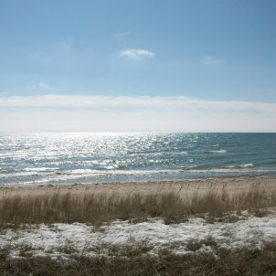 Lake Michigan, early Spring 2015 - Photo by Karl