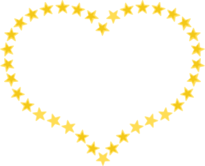 heart_shaped_border_with_yellow_stars
