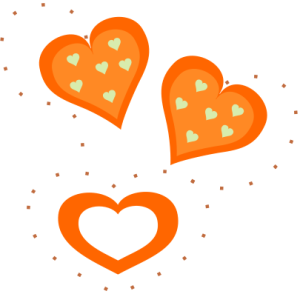 Valentine_Orange_Hearts