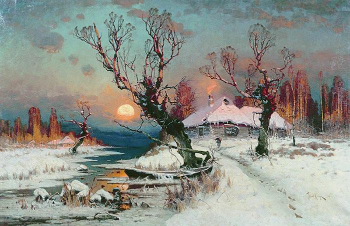 Winter Sun Dawn