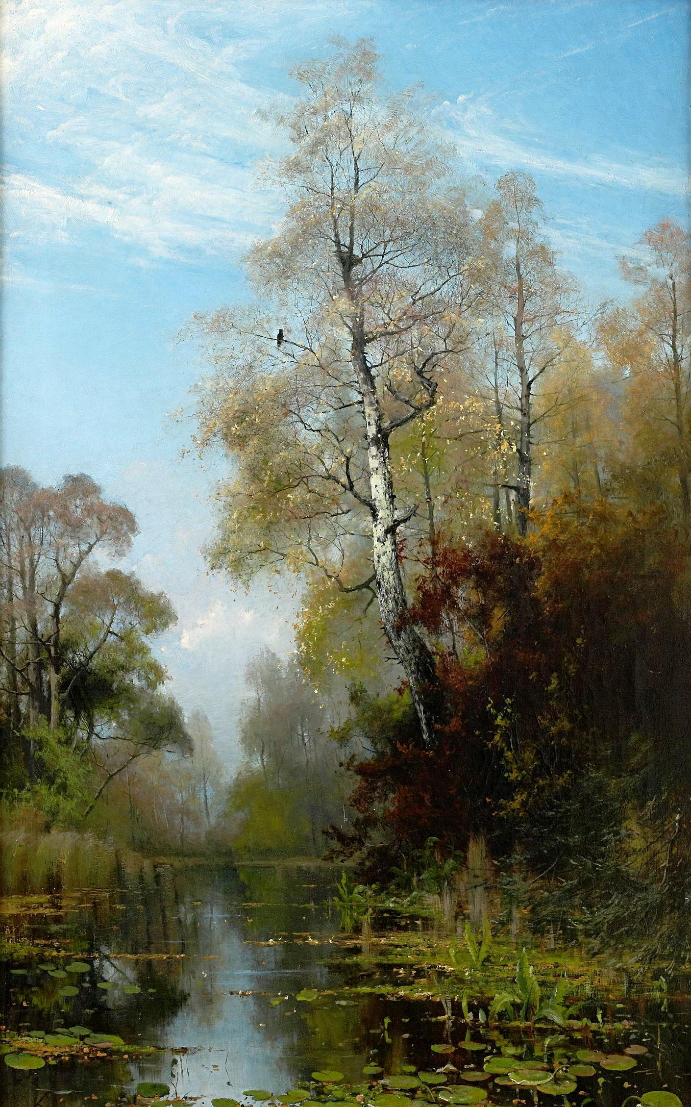 Lake_Scene_in_Autumn